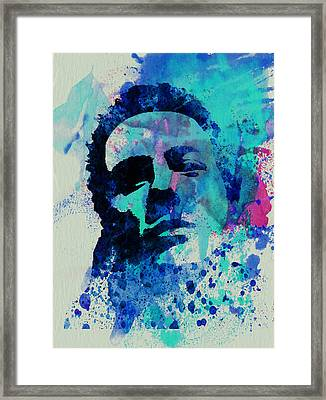Joe Strummer Framed Print by Naxart Studio