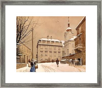 Johannes Chapel Corner Framed Print by Mountain Dreams