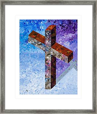 John 17 Framed Print by Enrico Pischiera