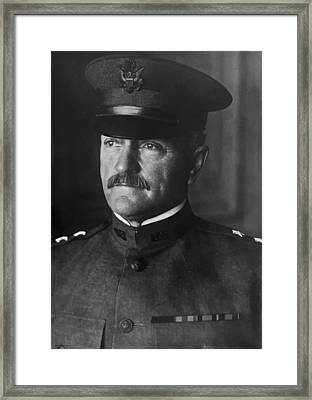 John J. Pershing Framed Print by War Is Hell Store