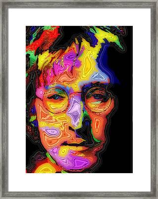 John Lennon Framed Print by Stephen Anderson