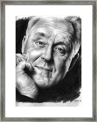 John Lithgow Framed Print by Greg Joens