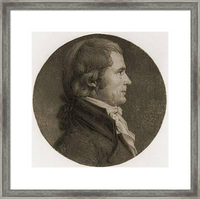 John Marshall 1755-1835, Fourth Chief Framed Print by Everett