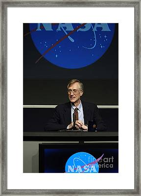 John Mather, American Astrophysicist Framed Print by Science Source