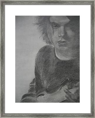 John Mayer  Framed Print by Allison Jones