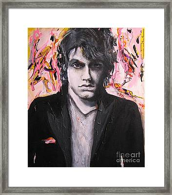 John Mayer Framed Print by Eric Dee