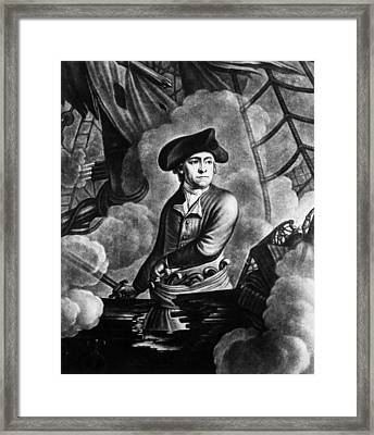 John Paul Jones 1747-1792, American Framed Print by Everett