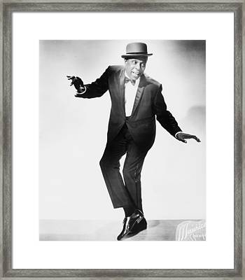 John W. Bubbles 1902-1986 Was The Best Framed Print by Everett