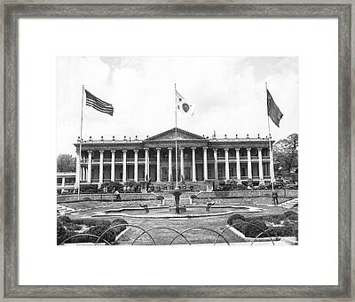 Joint Commission On Korea Framed Print by Underwood Archives