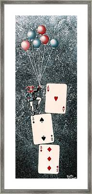 Joker 3 Framed Print by Graciela Bello