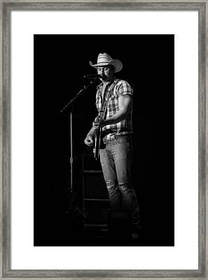 Jon Pardi 2 Framed Print by Mike Burgquist
