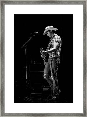 Jon Pardi Guitar 3 Framed Print by Mike Burgquist