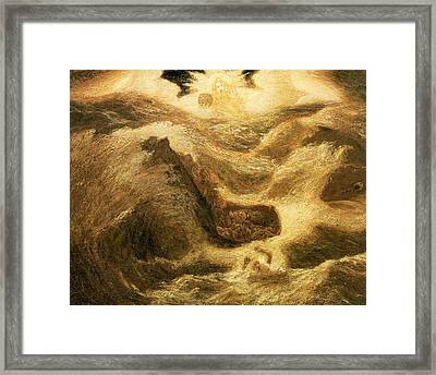 Jonah Framed Print by Albert Pinkham Ryder