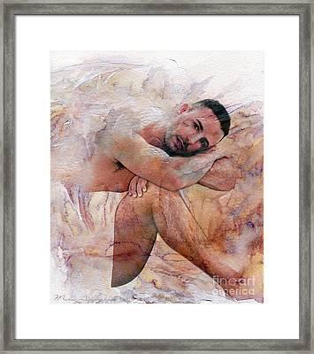 Joseph Framed Print by Mark Ashkenazi