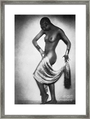 Josephine Baker (1906-1975) Framed Print by Granger