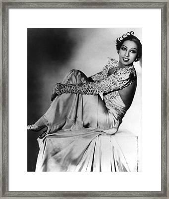 Josephine Baker Framed Print by American School