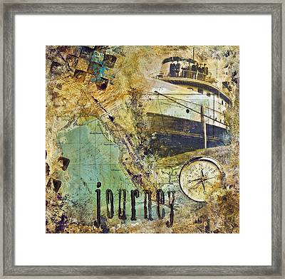 Journey Framed Print by Barb Pearson