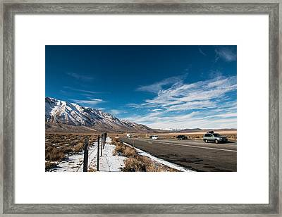 Journey Framed Print by Hyuntae Kim