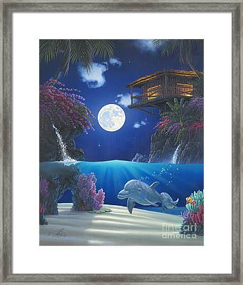Journey In Paradise Framed Print by Al Hogue