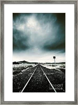 Journey Of Turbulence Framed Print by Jorgo Photography - Wall Art Gallery