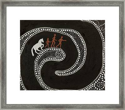 Journey Framed Print by Sophy White