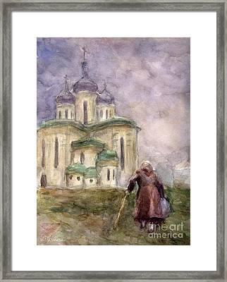 Journey Framed Print by Svetlana Novikova