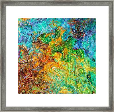 Journey Through Autism Framed Print by Wendy Middlemass