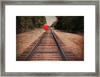 Journey Framed Print by Tom Mc Nemar