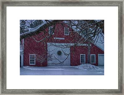 Journeys End Maine Framed Print by Jeff Folger
