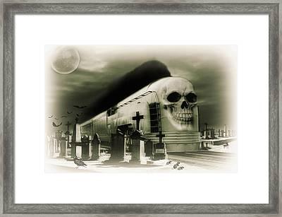 Journeys End Framed Print by Steven Agius