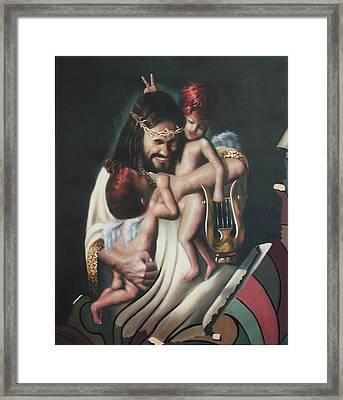Joy Framed Print by Anthony Falbo