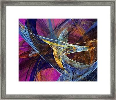 Joy Framed Print by David Lane