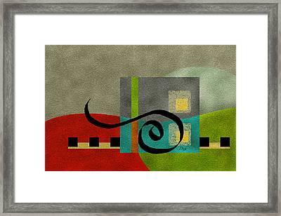 Joy Framed Print by Gordon Beck