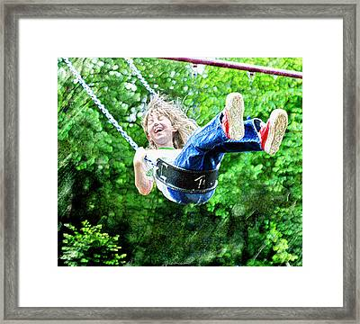 joy Framed Print by Jane Schnetlage