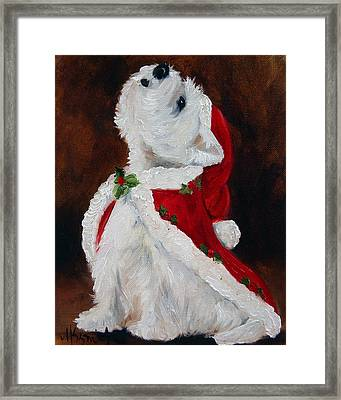 Joy To The World Framed Print by Mary Sparrow