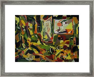 Joyful Renovation  Framed Print by Tadeush Zhakhovskyy