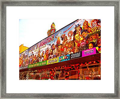 Joys Of Shopping 2 Framed Print by Chuck Taylor