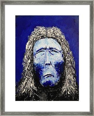 Juan Matus Framed Print by Nick Young