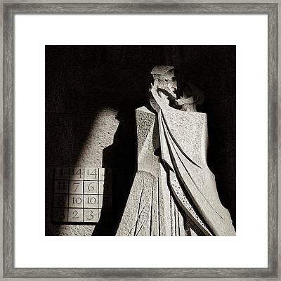 Judas Treason Framed Print by Dave Bowman