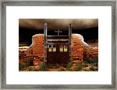 Judgement Day Framed Print by David Lee Thompson