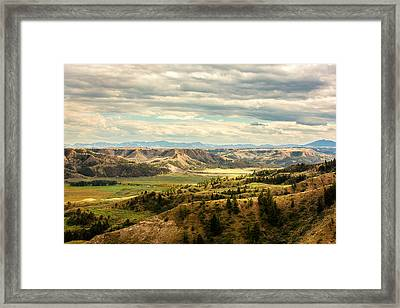 Judith River Breaks Framed Print by Todd Klassy