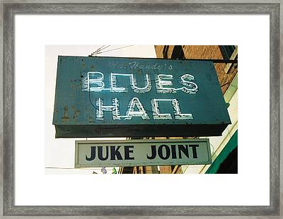 Juke Joint Framed Print by Jame Hayes