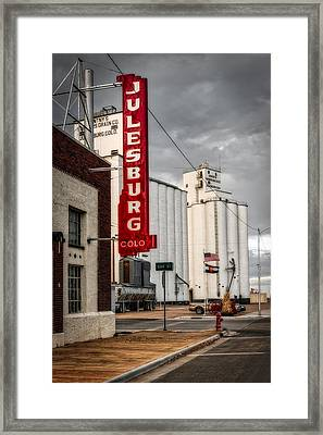 Julesburg Colorado Framed Print by Mountain Dreams