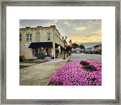 July 4th In Murphy North Carolina Framed Print by Greg Mimbs