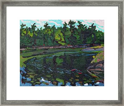 July Long Reach Framed Print by Phil Chadwick