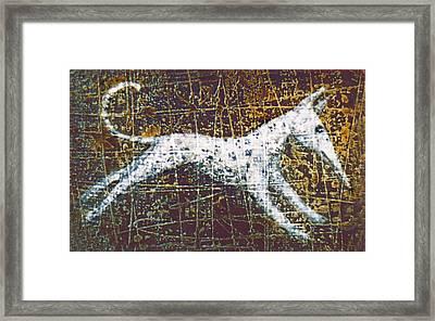 Jumper Framed Print by Lolita Bronzini