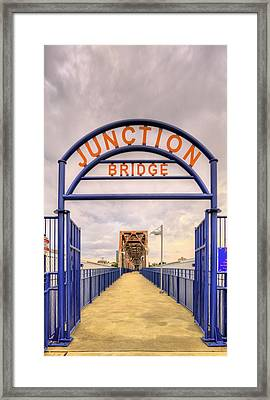 Junction Bridge Little Rock Framed Print by JC Findley