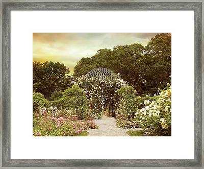 June Bloom Framed Print by Jessica Jenney