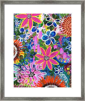 Jungle Love Framed Print by Robin Mead
