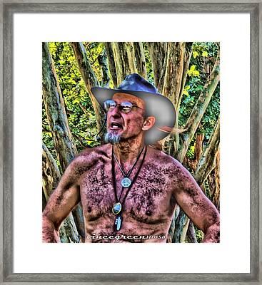 Jungle Mission Framed Print by Vince Green